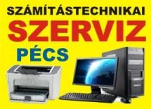 Számítástechnikai szerviz Pécsen a Lánc utcai rendelőnél.