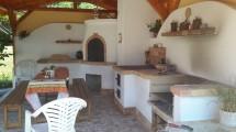 Kemence kerti konyha építés cserépkályha kandalló építés