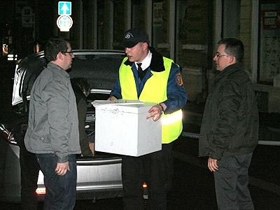 Városhába érkeznek az urnák 20 óra