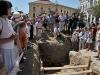 Nyílt nap a Széchenyi téri ásatásoknál