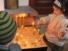 Keresztelő a pécsi szerb ortodox Egyházközségben