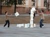 Rongálás a Széchenyi téren