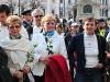 Erőszak elleni demonstráció a Széchenyi téren