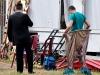 A Magyar Nemzeti Cirkusz felvonulása a Széchenyi térre