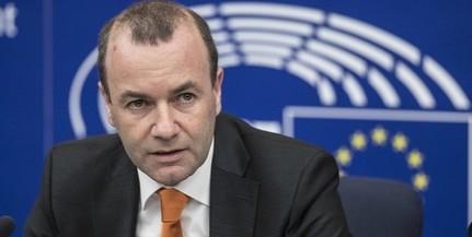 Weber szerint nincs napirenden a Fidesz kizárása