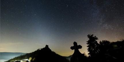 Így ragyogta be az eget Felvidéken az állatövi fény