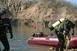 Az erdősmecsekei bányatónál vizsgáztak a mentőbúvárok