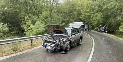 Szerencsére nem volt sérültje a Véménd és Feked között történt balesetnek