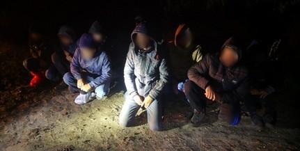Újabb migránsokat fogtak el a Mohácsi-szigeten éjszaka