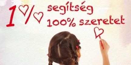 Egy százalék segítség, száz százalék szeretet