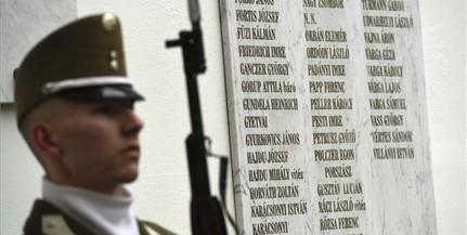 Budapest ostromának hőseire és civil áldozatakra emlékeztek