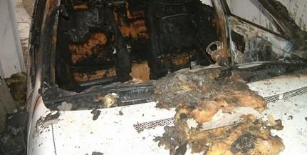 Elégett: autót gyújtott fel egy csányoszrói férfi