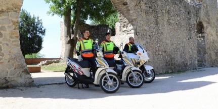 Új járműveket kaptak a motoros polgárőrök