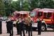 Új, magyar gyártású, Rába tűzoltóautót vehettek birtokba a lánglovagok Pécsett