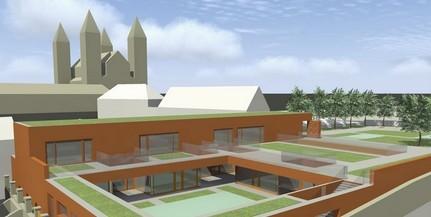 Letették a Szent Mór Óvoda új épületének alapkövét, kétezer kisdedóvó újul meg