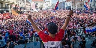 A csoda kapujában elbotlottak a horvát nemzeti hősök, Franciaország a világbajnok