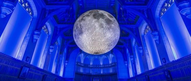 Nyoma veszett a Zsolnay Fényfesztiválon is megcsodált hétméteres Hold-installációnak