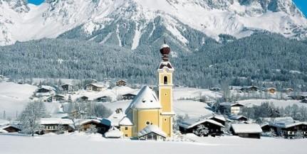 Harminc centi hó esett a szomszédban, az Alpokban