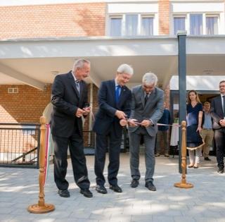 Átadták hétfőn a Damjanich Kollégiumot, 430 millió forintból újították fel