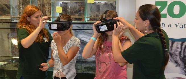 Évmilliókat utazhatnak vissza az időben a diákok a Pécsi Állatkertben