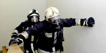 Lángolt egy lakás a Nagy Lajos király útján - Az utcára menekítették a lakókat
