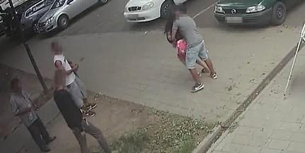Megpróbálta elrabolni Pécsről volt barátnőjét egy férfi, jöttek a rokonok is - Videó!