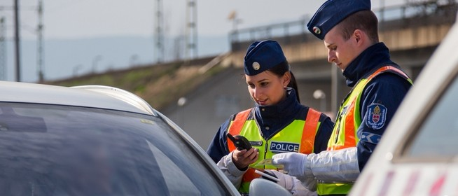 Egész héten fokozott ellenőrzést tart a rendőrség az ország egész területén