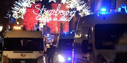 A strasbourgi karácsonyi vásár közelében mészárolt egy merénylő, hajtóvadászat indult