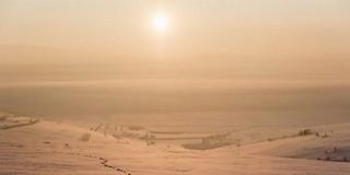 Zúzmarás köd képződik éjjel, nagyon hideg lesz