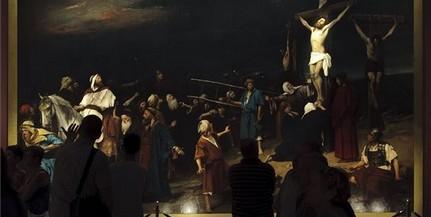 Megvásárolta a kormány Munkácsy Golgota című festményét