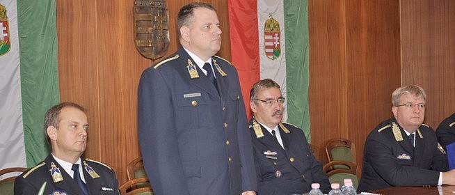 Csongrád megyéből érkezik a megye új rendőr-főkapitánya, Gulyás Zsolt ezredes