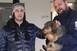 Tacskót mentettek ki a rendőrök a jeges Tiszából