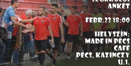 Beszélgetésre várják szombaton a PMFC szurkolóit