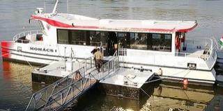 Már Mohácson horgonyoz a város új kirándulóhajója