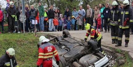 Palkonyán gyakorlatoztak a baranyai önkéntes mentőcsoportok