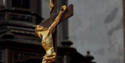Ma van az év legcsendesebb napja, Jézus halálára emlékeznek a keresztények