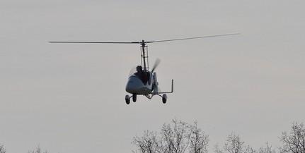 Lezuhant egy girokopter, meghalt a pilóta