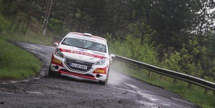 Második helyen zárta a Miskolc Rallye-t Szauer Gergő és Rácz László