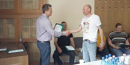 Huszonegy szakember szerzett amatőr sportszervező oklevelet