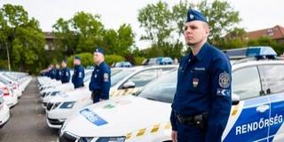 Újabb félezer új autót kapott a rendőrség