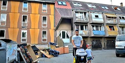 Portaszolgálattal segítené a rendfenntartást a város a hírhedt Lánc utcai épülettömbben