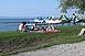 Még nem rohamozták meg a Balatont a nyaralók - Nem szálltak el az árak tavalyhoz képest