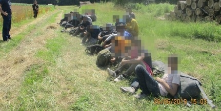Három csoportban érkező migránsokat tartóztattak fel Bács-Kiskunban