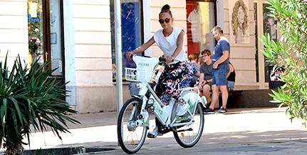 Bejött a PécsiKe a pécsieknek, sokan tekernek az új kerékpárokkal a városban