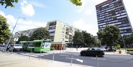 Átadták az Ybl Miklós út felújított szakaszát, következik az Esztergár Lajos utca
