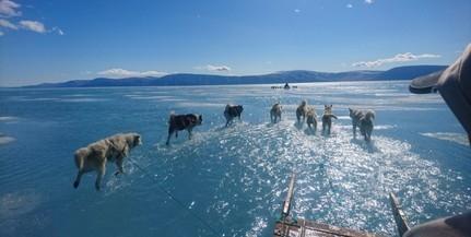 Évente 2,2 milliméterrel nő a tengerszint az Északi-sarkvidéken