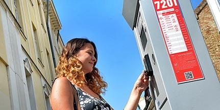 Lényegében megszűntek a panaszok az új pécsi parkolóautomatákkal kapcsolatban