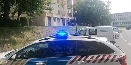 Tragédia a Honvéd utcában: mélybe vetette magát egy fiatalember
