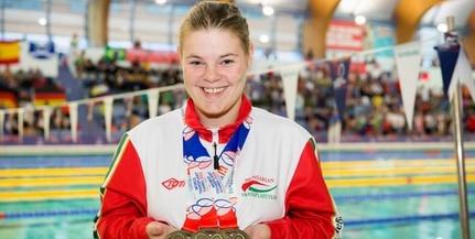 Három aranyérmet nyert a pécsi úszó, Sípos Tímea a Szervátültetettek Világjátékán