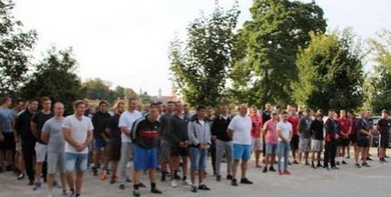 Komlói tűzoltók nyerték a rendvédelmisek focitornáját